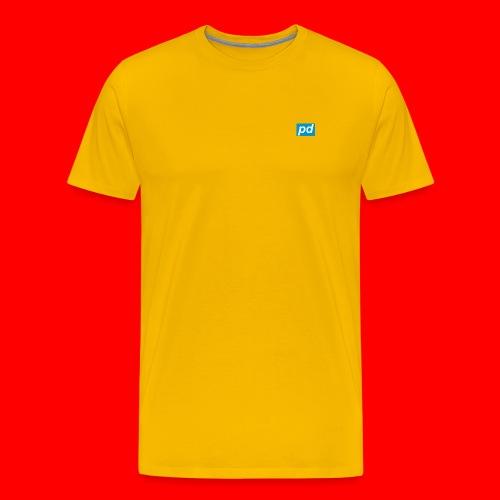 pd Blue - Herre premium T-shirt