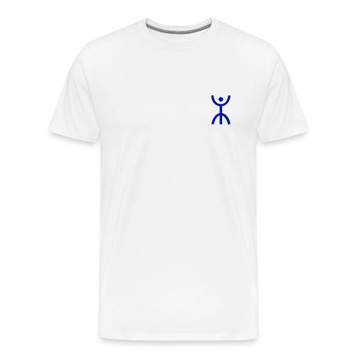 énana bleu - T-shirt Premium Homme