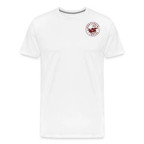 logo rosso - Maglietta Premium da uomo
