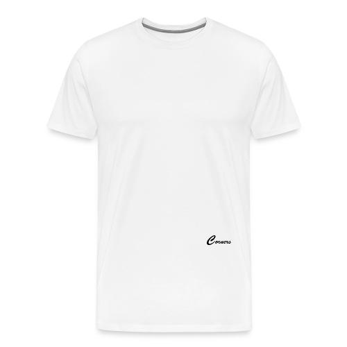 Corners Logo - Herre premium T-shirt