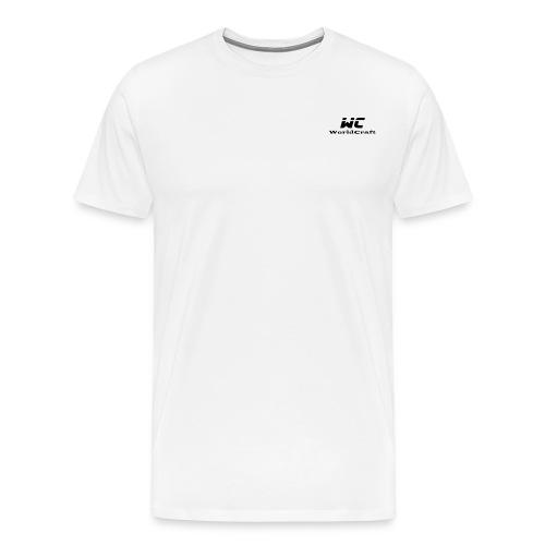 WorldCraftNoir - T-shirt Premium Homme