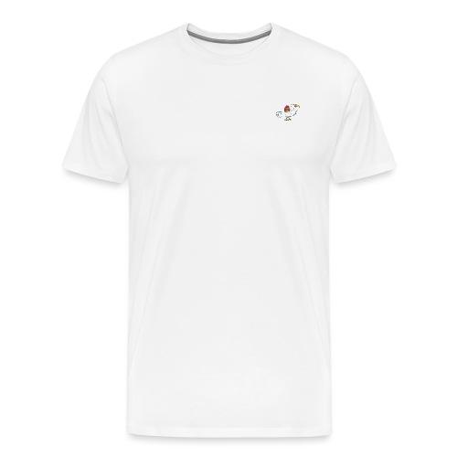 Egg Bird - Premium-T-shirt herr