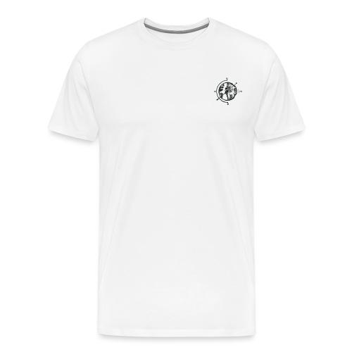 KOMPAS OFFICIAL - Mannen Premium T-shirt