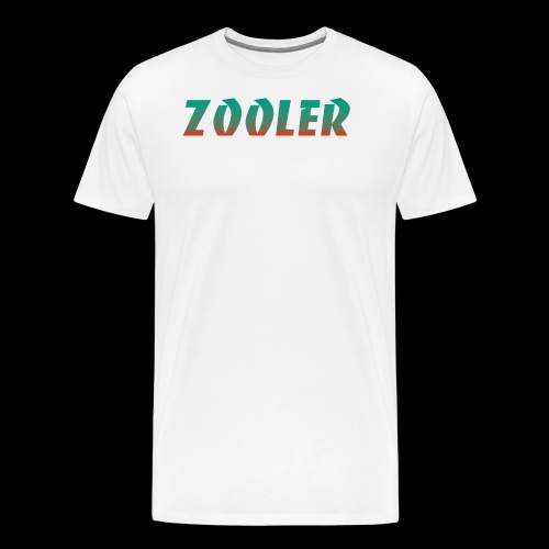 Zooler BANCO orange and green - T-shirt Premium Homme