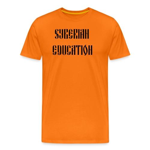 Russia Russland Syberian Education - Men's Premium T-Shirt