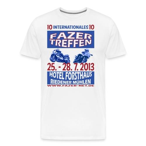 ift10logo blau korr - Männer Premium T-Shirt
