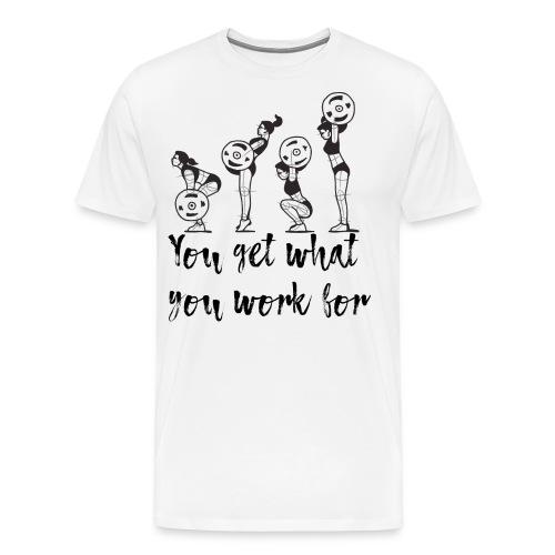 Bodybuilding T-Shirt Frauen Fitness - Männer Premium T-Shirt