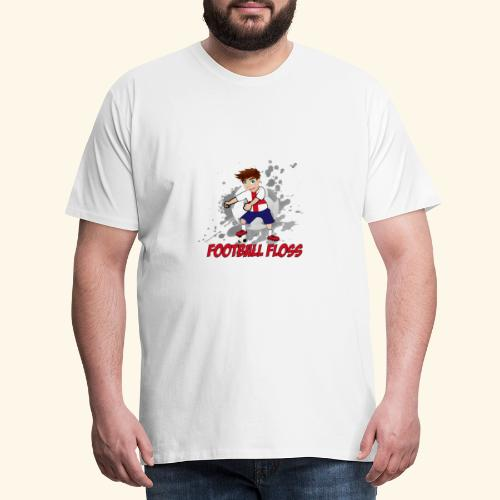 England Football Floss - Men's Premium T-Shirt