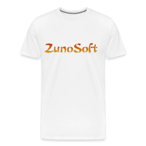 ZunoSoft Logo - Men's Premium T-Shirt