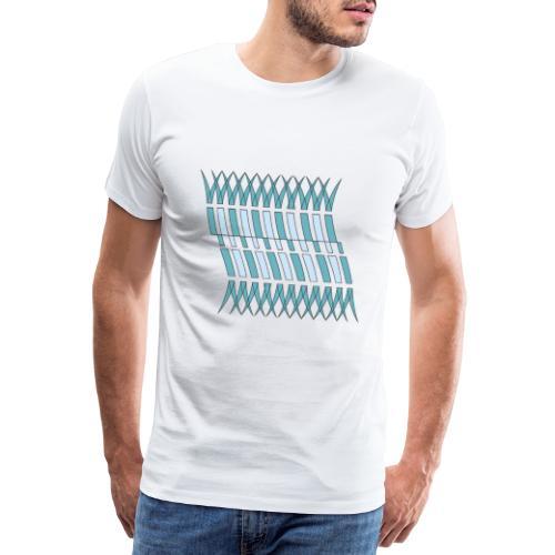 linee astratte geometriche - Maglietta Premium da uomo