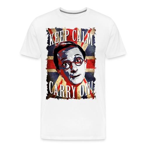 Carry On & Keep Calm - Men's Premium T-Shirt