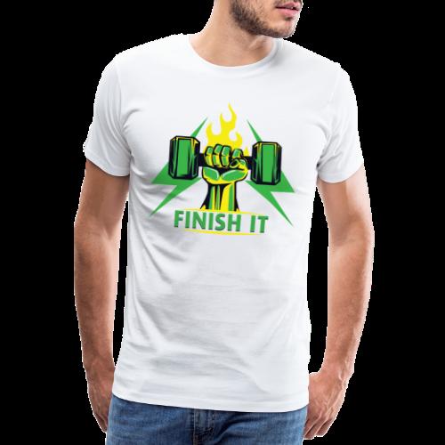 Finish IT - Men's Premium T-Shirt