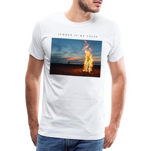 summer is my color 3 - Maglietta Premium da uomo