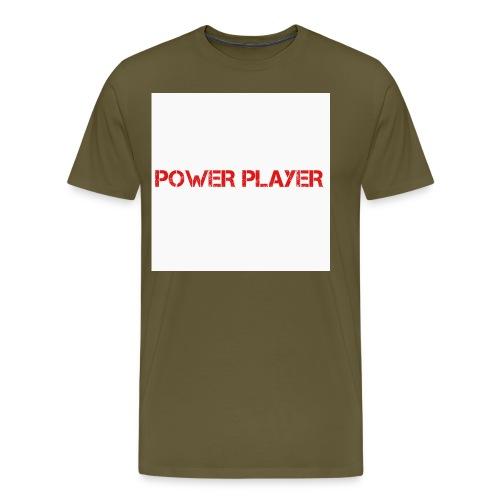 Linea power player - Maglietta Premium da uomo