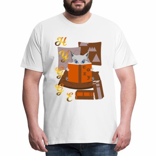 HYGGE LIBRARY - Men's Premium T-Shirt