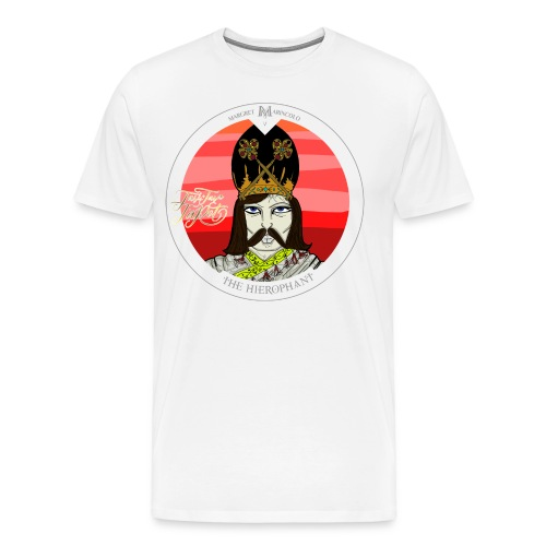 The Hierophant | Tarot Karte | Sternzeichen Stier - Männer Premium T-Shirt
