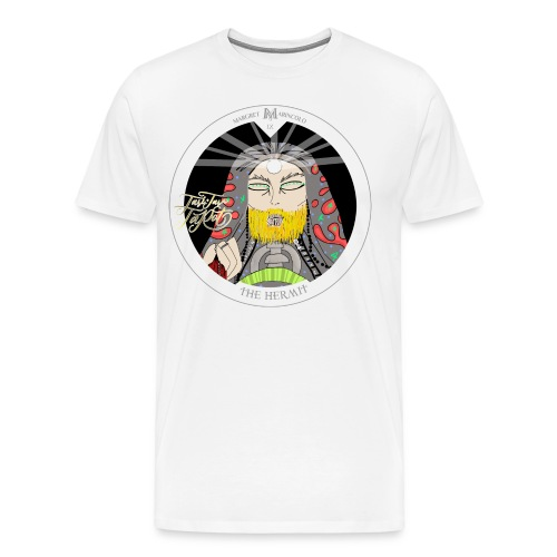 The Hermit | Der Eremit Tarot-Karte | Jungfrau - Männer Premium T-Shirt