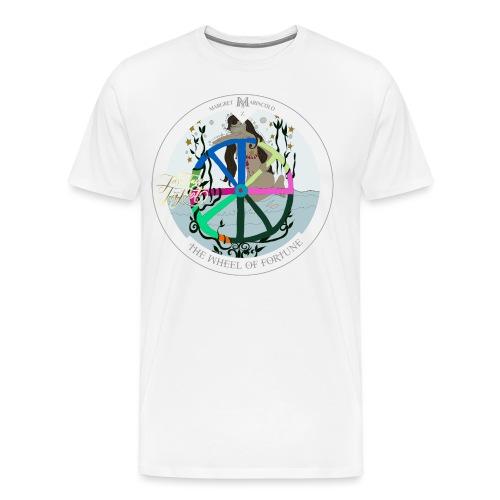 The Wheel of Fortune | Rad des Schicksals Tarot - Männer Premium T-Shirt