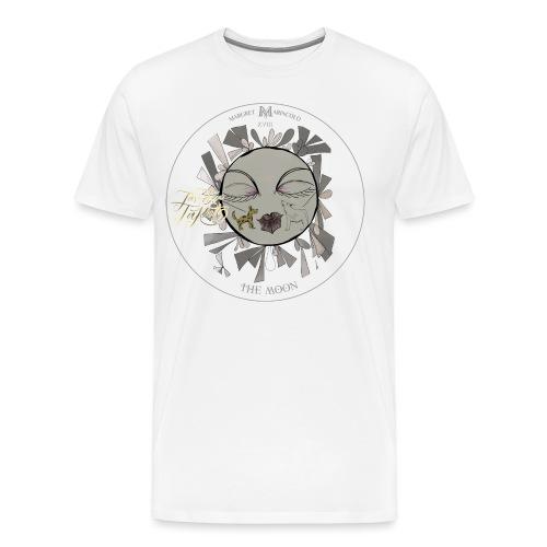 The Moon | Der Mond Tarot Karte | Fische - Männer Premium T-Shirt