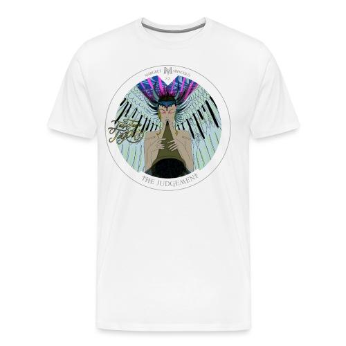 The Judgement | Das Gericht Tarot Karte rund - Männer Premium T-Shirt