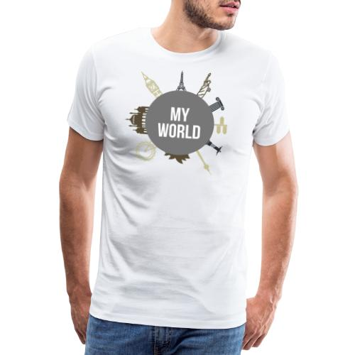 My World - Design - Männer Premium T-Shirt