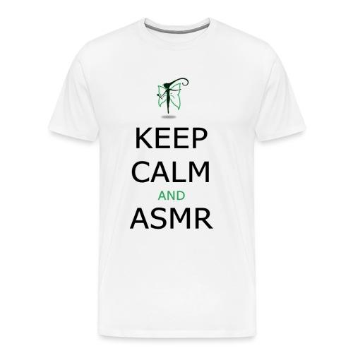 KEEP CALM AND ASMR - Maglietta Premium da uomo