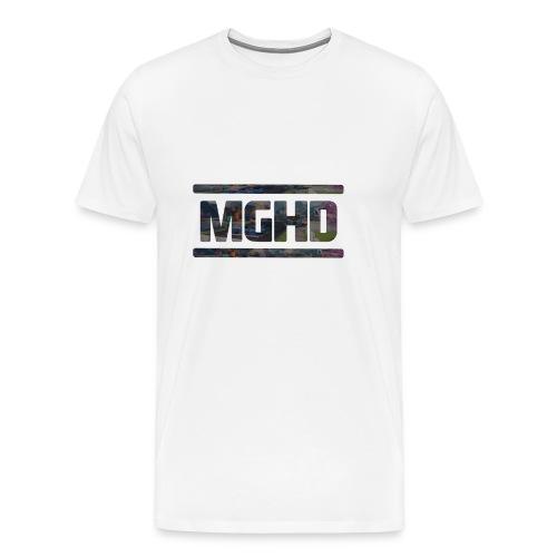 MGHD WHITE T-SHIRT - Men's Premium T-Shirt