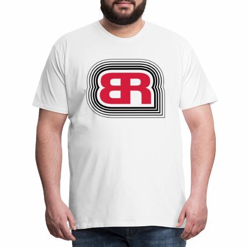Build and Ride Logo - Männer Premium T-Shirt