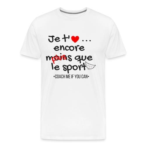 Saint Valentin - T-shirt Premium Homme