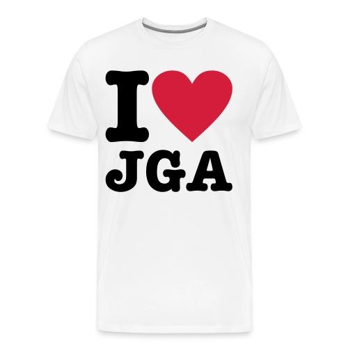 I love JGA - Männer Premium T-Shirt