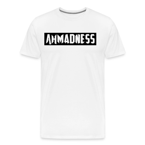 AhMADNESS Design T-Shirt - Men's Premium T-Shirt
