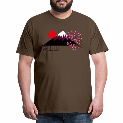 Mount Fuji, Japan - Men's Premium T-Shirt