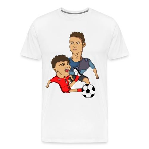 profilbilde gjennomsiktig cropped png - Premium T-skjorte for menn