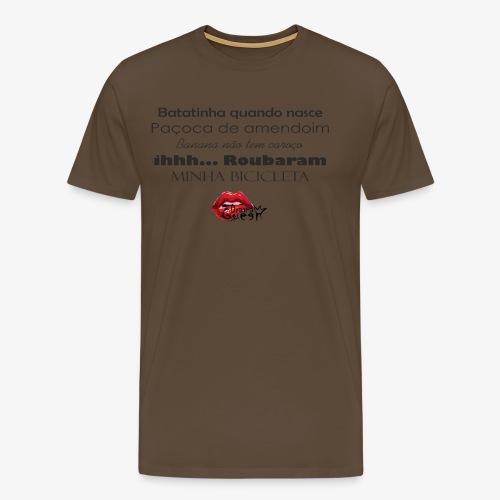 Minha bibicleta - Men's Premium T-Shirt