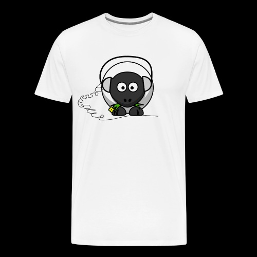 Music Sheep - Mannen Premium T-shirt