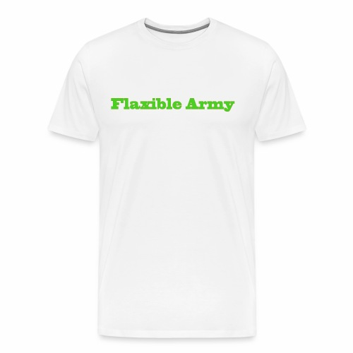 ,,Flaxible Army'' Kollektion - Männer Premium T-Shirt