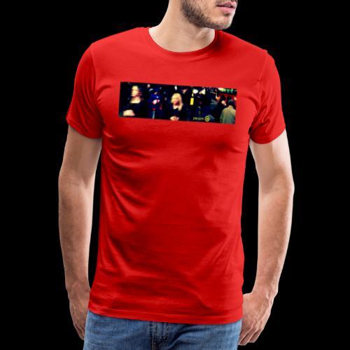 Captain America in Leicester Square - Men's Premium T-Shirt