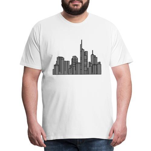 Città di Francoforte 2 - Maglietta Premium da uomo