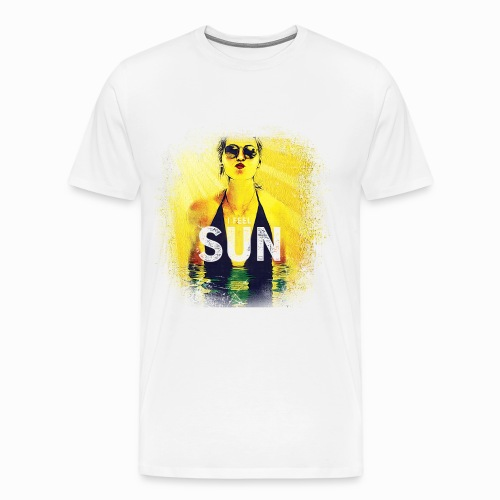 Gyrlie - I Feel Sun (Industrial) - Männer Premium T-Shirt