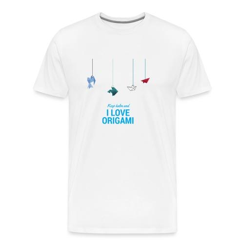 Origami - Maglietta Premium da uomo