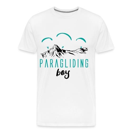 Paragliding boy - Männer Premium T-Shirt