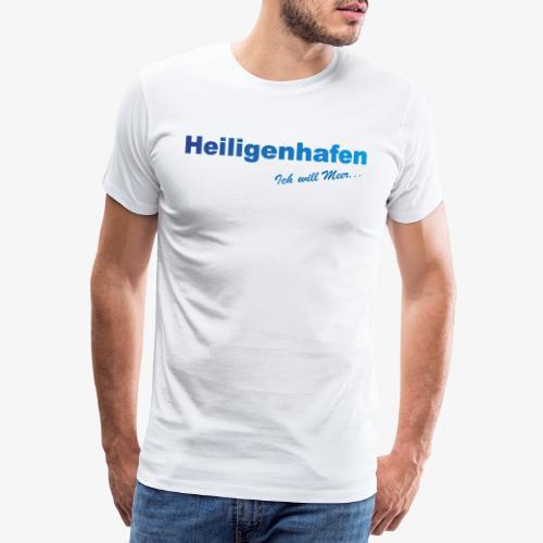 Heiligenhafen weiss Shirt - Männer Premium T-Shirt