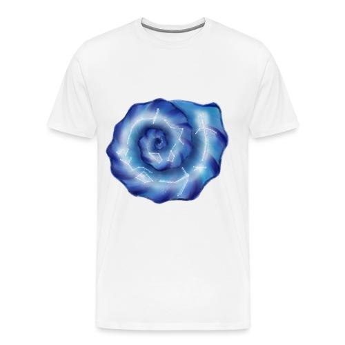 Galaktische Spiralenmuschel! - Männer Premium T-Shirt