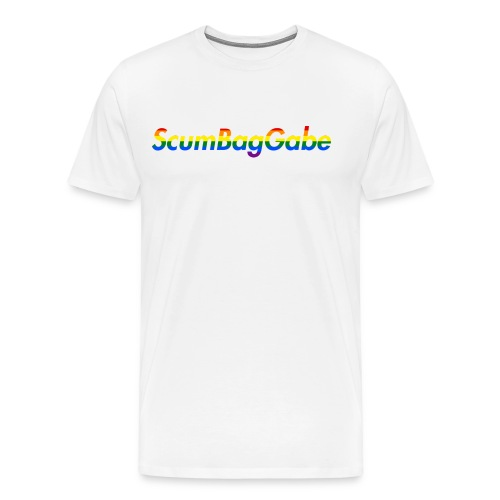 ScumBagGabe Multi Logo XL - Men's Premium T-Shirt