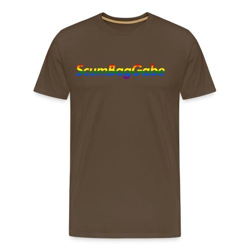 ScumBagGabe Multi Logo XL - Men's Premium T-Shirt