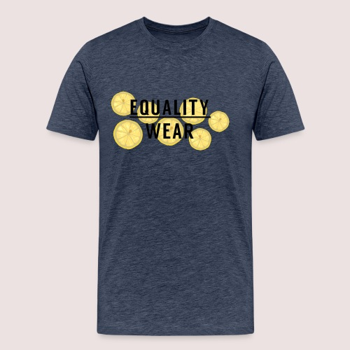 Equality Wear Fresh Lemon Edition - Men's Premium T-Shirt