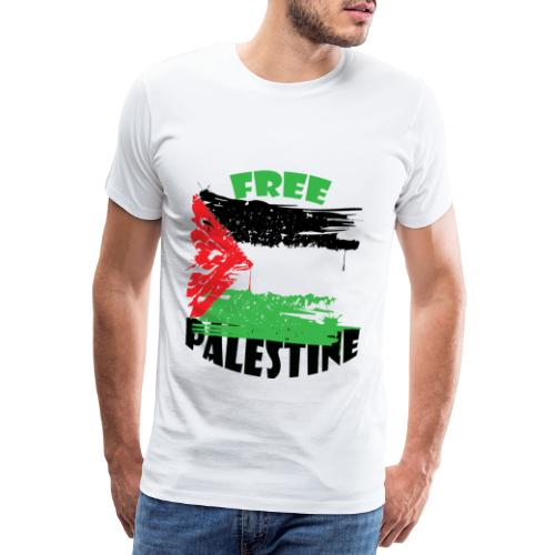 free palestine - T-shirt Premium Homme