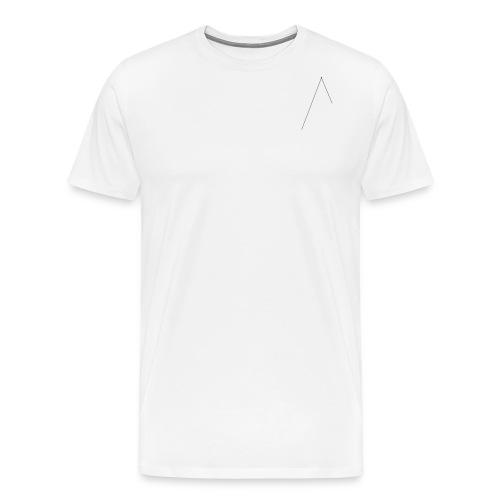 Azurite slimm - Mannen Premium T-shirt
