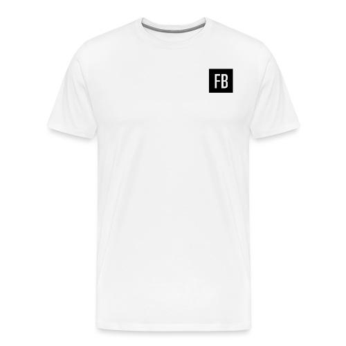 FB logo - Men's Premium T-Shirt