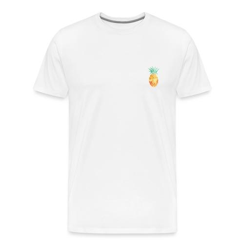 pinety logo print - Herre premium T-shirt